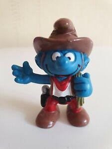 Smurf-Vintage-Figure-Collection-Cowboy