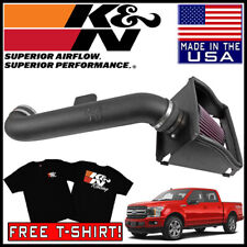 K/&N Aircharger Performance Cold Air Intake Kit 15-19 Ford F-150 5.0L V8 12HP