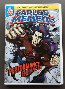 Details about CARLOS MENCIA - Performance Enhanced DVD EX Condition Comedy  Central Region 1