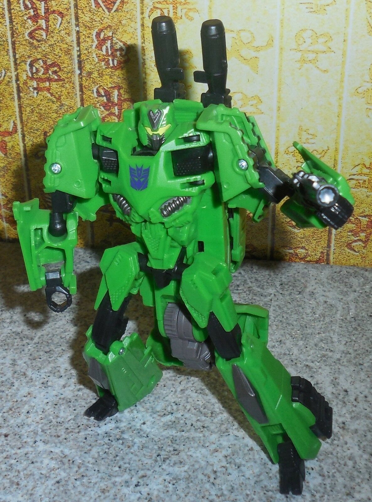 Transformers Generations Fall of Cybertron BRAWL Complete Bruticus FOC