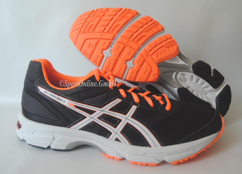 NEU Asics Gel Emperor 3 Größe 46 Herren Laufschuhe Running Schuhe T5F3N-9001