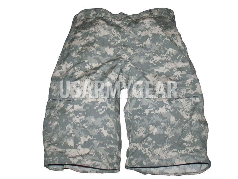 Auténtico Acu Militar Cargo Fatiga Camuflaje Digital Bermudas Gi Pantalones