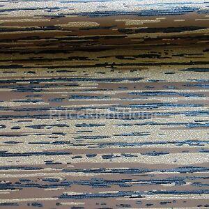 Opale-Ecorce-Paillette-Papier-Peint-Marron-Noir-Dore-P-S-02495-40-Neuf