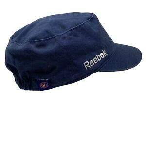 Reebok-Montreal-Canadiens-NHL-Gris-Cadete-Sombrero-Elastico-Dorso-un-Talla-Fit-S