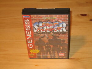 Super-Street-Fighter-II-2-Sega-Genesis-Case-Box-amp-Cover-Art-NO-GAME-CARTRIDGE