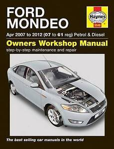 ford mondeo 07 12 service and repair manual by haynes publishing rh ebay co uk 2007 Ford Fusion Manual Book 2007 Ford Fusion Manual Online