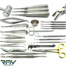 Dental Surgical Oral Surgery Extracting Elevators Bone Implant Micro Surgery Kit