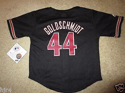 VertrauenswüRdig Paul Goldschmidt Arizona Diamondbacks D-backs Majestic Mlb Trikot Toddler 2t Neu Wasserdicht Baseball & Softball StoßFest Und Antimagnetisch