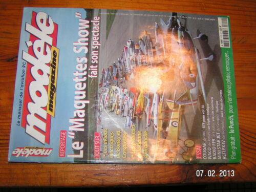 Lancé main Reflex IV Star Jet // Modele Magazine n°610 plan encarté Le Punch