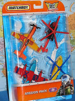 Franco Matchbox Skybusters Missioni Sikorsky Airblade Blaze Buster Stunt Devil 4 Sconto Del 50
