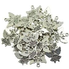 Wholesale 30pcs Antique Silver Angels Watching Over Me Angel Charms Pendant