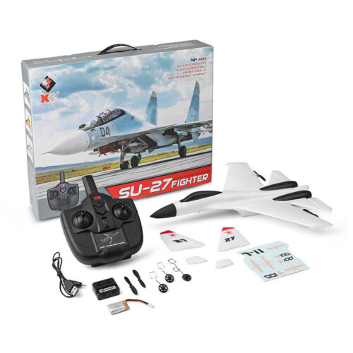 WLtoys A100 SU-27 3CH 2.4G RC Airplane RTF Glider EPP Composite Material 14+