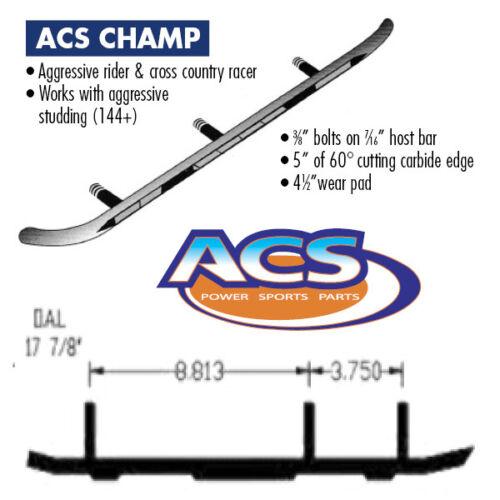 ACS Carbide Runners Ski-Doo Summit 500 583 670 1997-1998 Skandic SWT  2003-2005