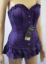 Bnwt Corset Story Classic Overbust With Gathered Trims UK 8 (R99)