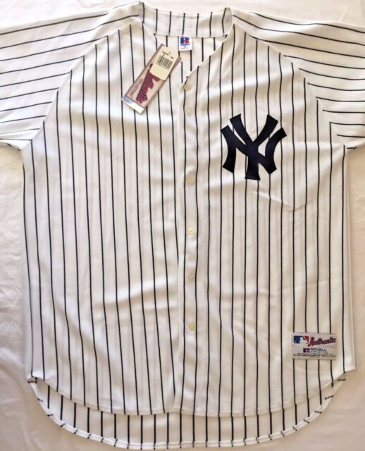 52 Russell Athletic Shirt Baseball Jersey New York Yankees Authentic Collection