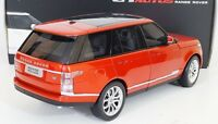 Land Range Rover Year 2013 1/18 Red Welly Gta -top Detailed Diecast Model