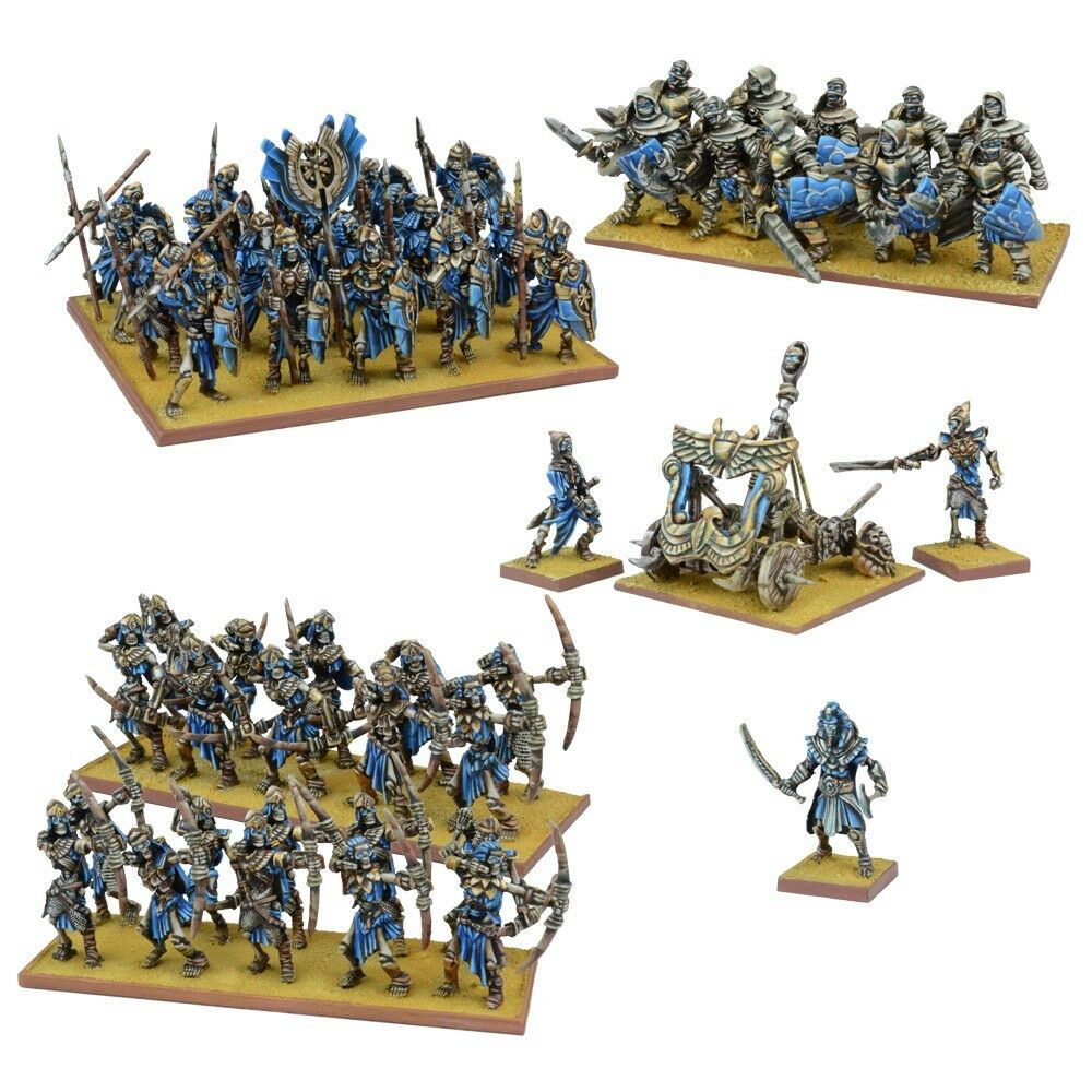 Empire of Dust Army Box Set - Kings of War - 53x Miniatures