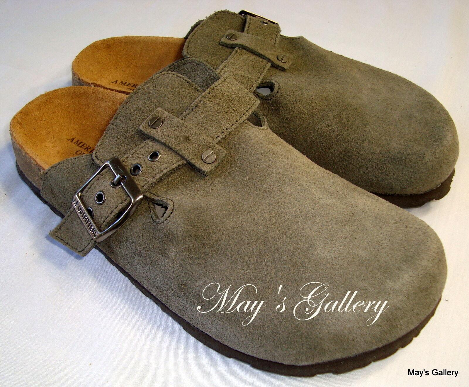American Eagle AE Sandal Flip Flop Flops shoes Clogs Slipper Suede  shoes  AEO 6