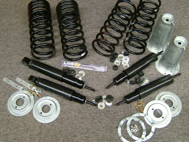 LAND ROVER DEFENDER 90 STANDARD SUSPENSION SPRING SHOCK WITH GALVANISED TURRETS