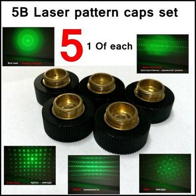 5 Stern Caps Nur für 5 in 1 Laserpointer GD-303 Typ