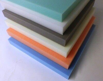 Cojines de espuma de alta densidad de medio de Tapicería Sofá Silla Asiento Almohadillas de Repuesto