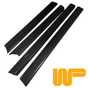 Classic-Mini-Carbon-Fibre-Front-amp-Rear-Door-Capping-Set-WPA9617X