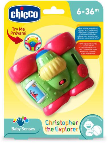 Giochi CHICCO Christopher The Explorer Binocolo Elettronico Interattivo 6m+