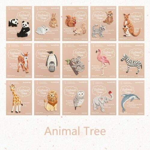 Little Animal DIY Decoration Embroidered Patches Badge Iron on Appliques