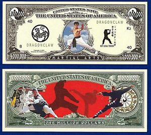 Image result for martial arts and money