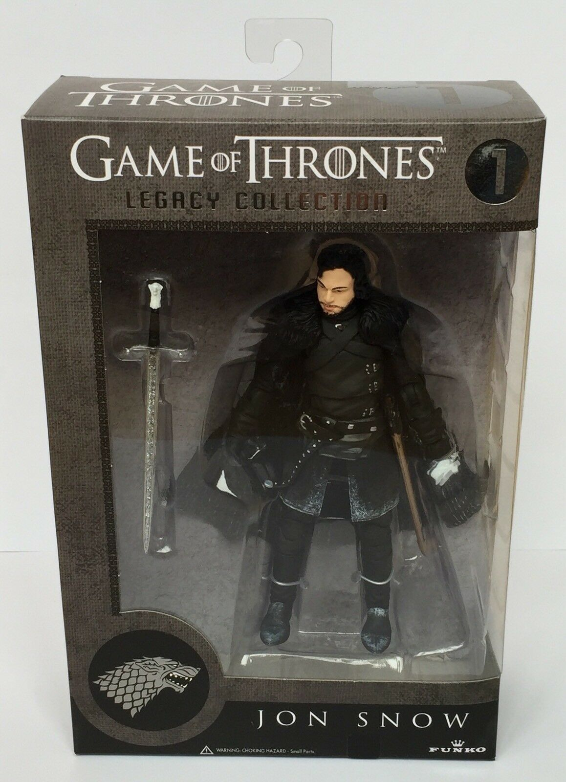 Game of thrones funko vermächtnis actionfigur jon snow neue