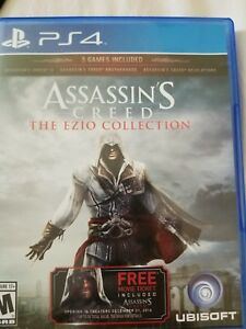 Assassins Creed The Ezio Collection Ps4 Very Good Quality Ebay