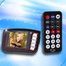 "1.8"" 4in 1 LCD Car Kit Wireless FM Transmitter MP3 MP4 Player MMC Remote F5"