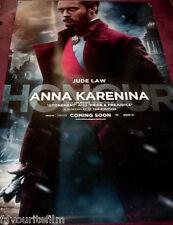 Cinema Banner: ANNA KARENINA 2012 (Jude Law) Kelly Macdonald Keira Knightley