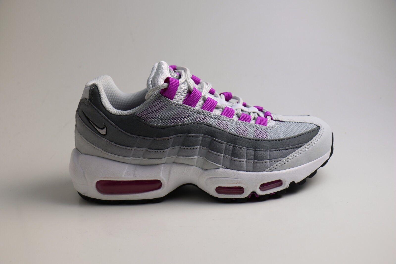 Nike Wmns Bir Max 95 Pure Platinum Hyper Violet 38 39 40 US 7 8 8,5 307960 001