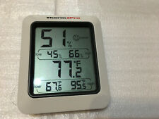 ThermoPro TP50 Digital Hygrometer Indoor Thermometer Humidity Monitor With