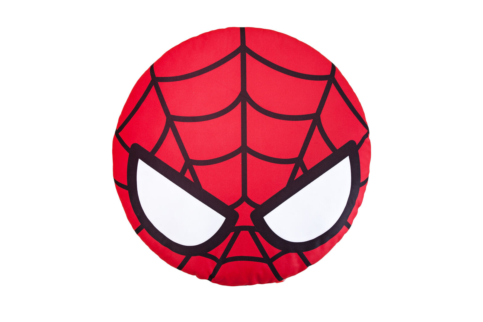 förundras Spider -Man Kawaii Round Face Cushion Plush leksak