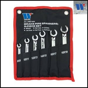 Werkzeug-Brake-Line-Flared-Nut-Spanner-Set-8-19-mm-6-Pcs-Set-2483
