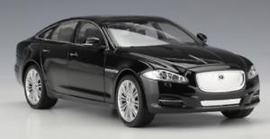 Welly-1-24-Jaguar-XJ-Black-Diecast-Model-Sports-Racing-Car-Toy-NEW-IN-BOX