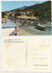 48586-La-Junquera-Frontera-franco-espanola-Grenze-alte-Ansichtskarte