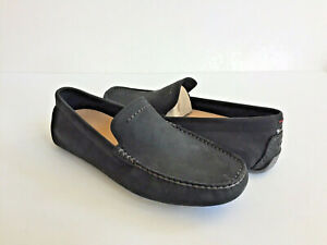 fa57a6940f6 Details about UGG HENRICK BLACK SUEDE LOAFER SLIP ON SHOE US 9 / EU 42 / UK  8 - NIB