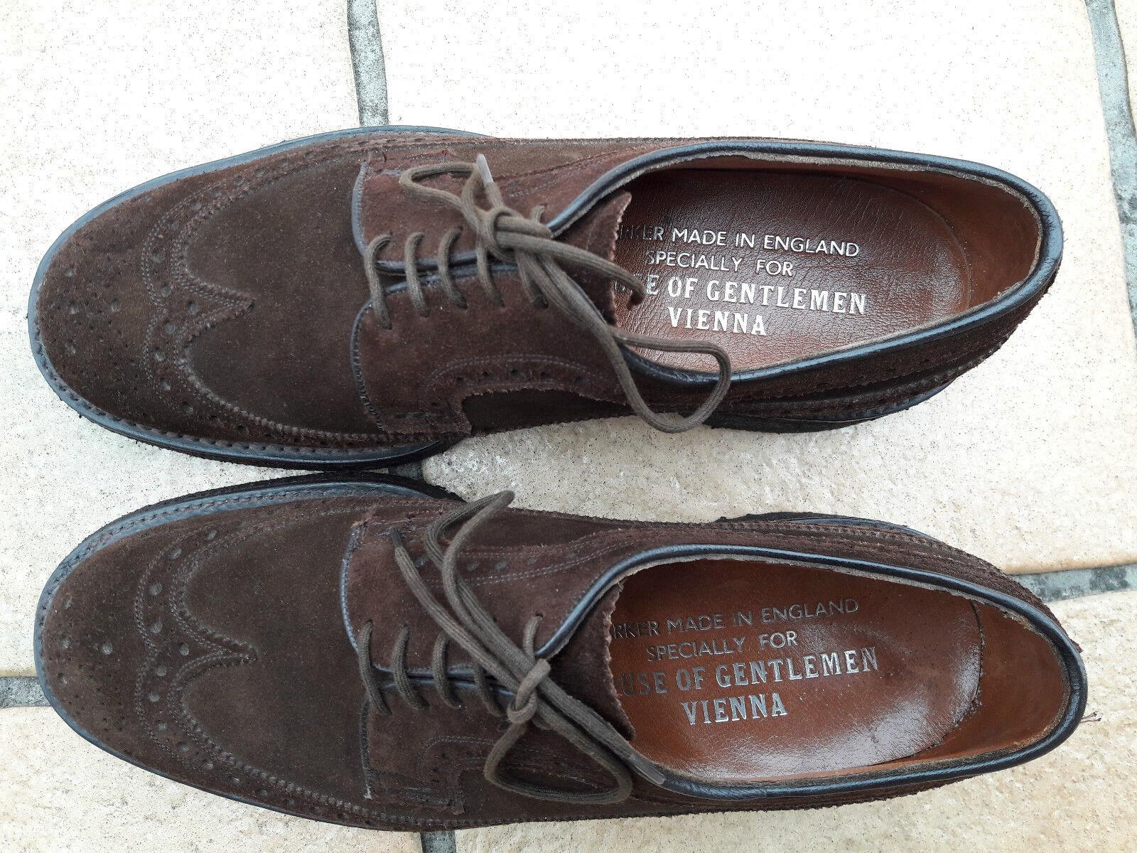 Barker Barker Barker for House of Gentlemen in Vienna, suede brogues derbies 6.5UK 0fa436