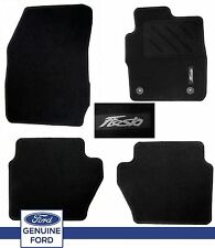 Genuine Ford Fiesta Mk7 2013 On Black Set Mats New Shape Inc ST ST2 Front & Rear