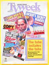 HARD COPY INSIDE EDITION Chicago Tribune TV Week guide Jul 24 1994 Tabloid