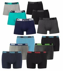 6ER PACK PUMA Boxershorts Unterhosen Shorts Promo Boxer