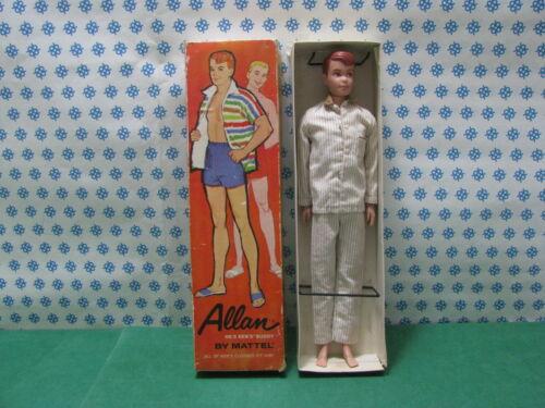 Authentich 100%  Barbie Ken's Buddy Allan by Mattel  Japan 1963