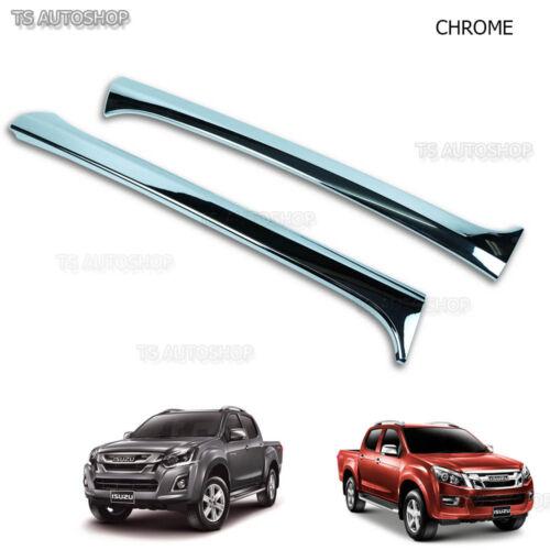 Chrome Front Window A Pillar Silll Door Cover Isuzu D-max Dmax 2012-2016 Ute