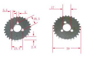 image is loading timing-drive-sprocket-atv-go-kart-engine-parts-