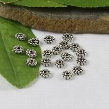 200 Pcs Tibetan Silver crafted gear spacer beads FC401