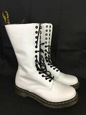 Dr. Martens original 1914 White14 eye BOOTS US Mens 8.5 / Women's 10 EU 42 UK 8