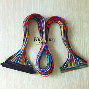Incredible Full 56 Pin 100Cm Length Jamma Harness For Arcade Cabinet Wire Wiring Database Gramgelartorg